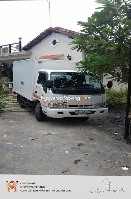 Dịch vụ cho thuê xe tải chở hàng của NguyenloiMoving