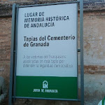 Acto de Señalización Oficial LMH Cementerio de Granada