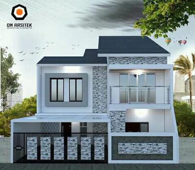 desain atap rumah rangka baja ringan