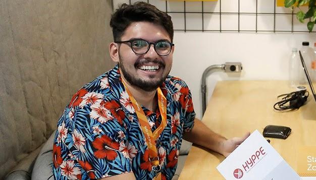 Julio Almeida, Fundador da Hyppe