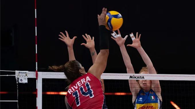 Las Reinas del Caribe derrotan a Italia en Liga Naciones y se colocan en sexto lugar del ranking mundial