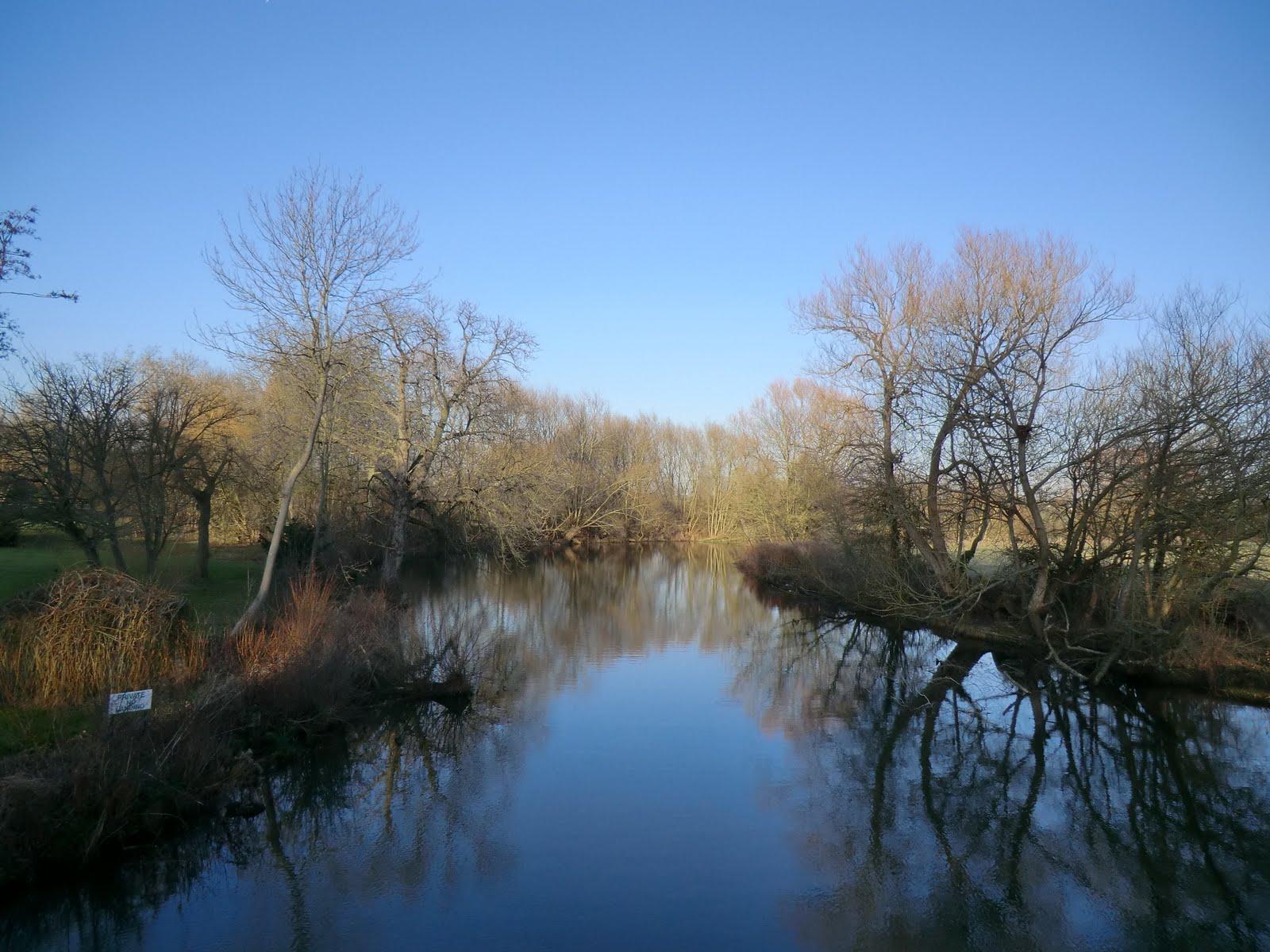 CIMG1519 River Cherwell near Wolfson College