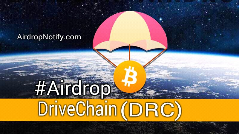 Drivechain(DRC) Token Airdropalert  | Crypto Airdrop  | Earn Free Crypto