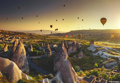 Top 10 beautiful places to visit in Turkey.