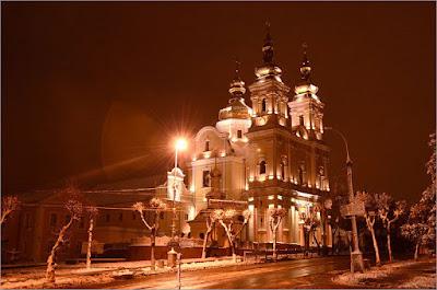 Prawosławny Prieobrażenskij sobór w Winnicy