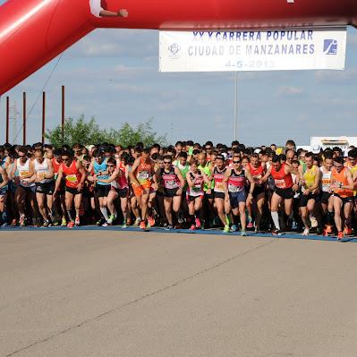 Carrera de Manzanares 2013 - Carrera