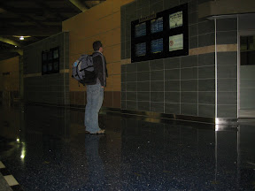 """I felt compelled, as in """"reading departure signs in some big airport"""""""