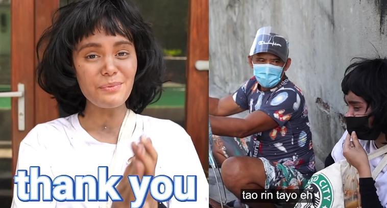 Ivana Alawi, humagulgol sa pag-iyak dahil sa pagtulong sa kaniya ng isang matanda sa gitna ng kaniyang prank
