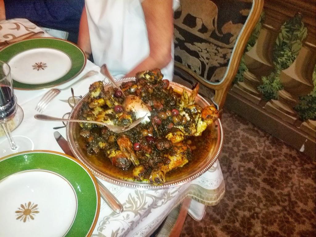 Poulet aux olives 6