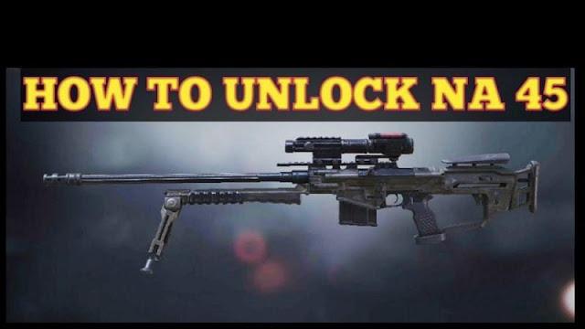 COD Mobile'da NA-45 keskin nişancı tüfeği nasıl alınır?
