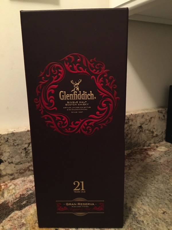 Glenfiddich 21 box