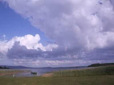 Lough Cullin bei Pontoon, Irland