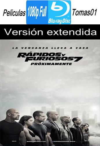 Rápidos y Furiosos 7 (A Todo Gas 7) (V. Extendida) (2015) BRRipFull 1080p