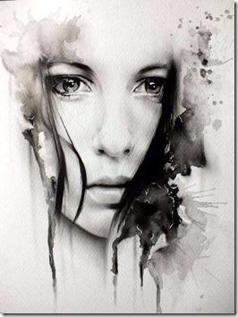 dibujos lapiz llorar y tristeza  (17)