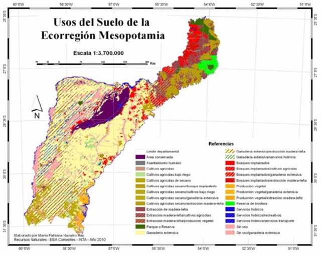 Argentina Discovery Argentina Is Composed Of Nine Geographic - Argentina misiones map