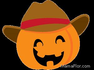 vaquero-halloween-calabaza-clipart-pumpkin