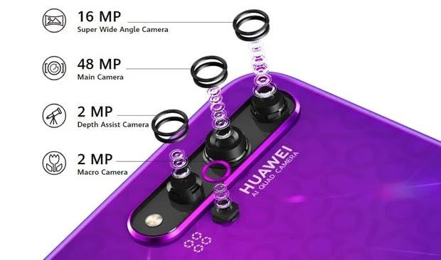 Huawei Nova 5T Spesifikasi