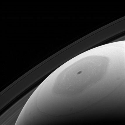 o héxagono de Saturno