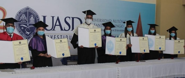 UASD INVISTE EN REGIÓN NORDESTE 2 MIL 336 NUEVOS PROFESIONALES DE GRADO Y POSTGRADO