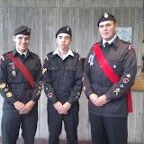 Cadet Week Flag Raising - 03 Oct 11