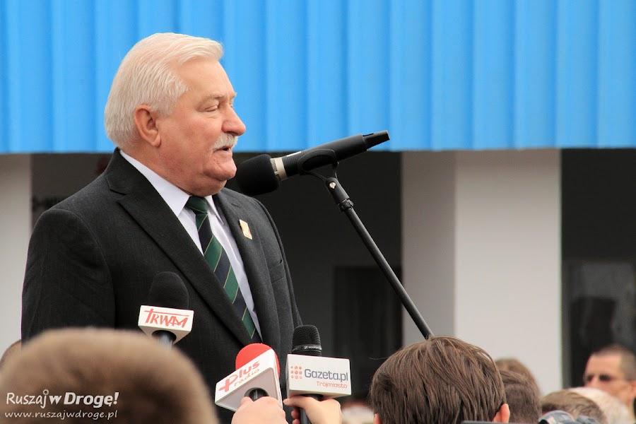 Otwarcie Europejskiego Centrum Solidarności w Gdańsku - przemawia Lech Wałęsa