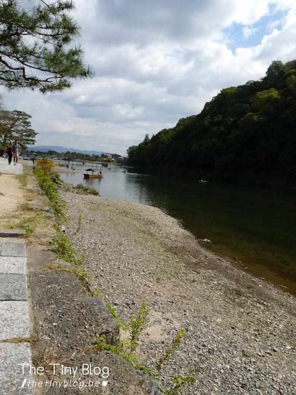 Togetsukyo Bridge Kyoto October 2015