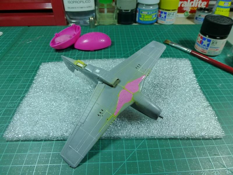 """P-51D """"The Enchantress"""" - Tamiya 1:72 - Finalizado 04Set2015 P1090622"""