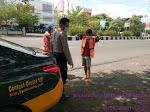 Tingkatkan Patroli Secara Intens QR Polsek Utbar Polres Ciko Tekan Angka Kriminalitas Di Masa Covid 19
