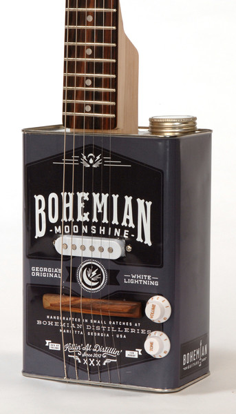 *油鐵桶再生電吉他:Bohemian Guitars 回收手作之美! 3