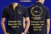 Partai UKM Indonesia: Momentum Memperkuat Toleransi di Hari Kenaikan Isa Al-Masih 2021