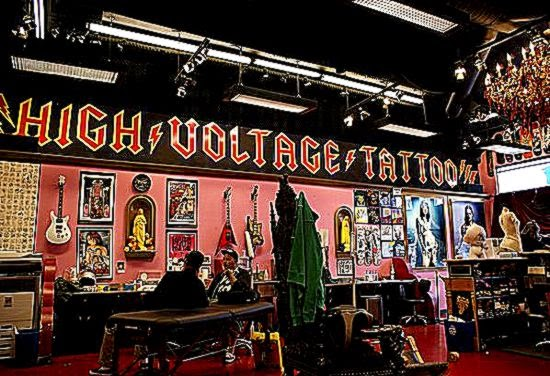 Kat Von D39s High Voltage Tattoo   Los Angeles California USA