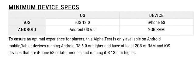 Android ve iOS için PUBG New State (Mobil) minimum cihaz gereksinimleri açıklandı