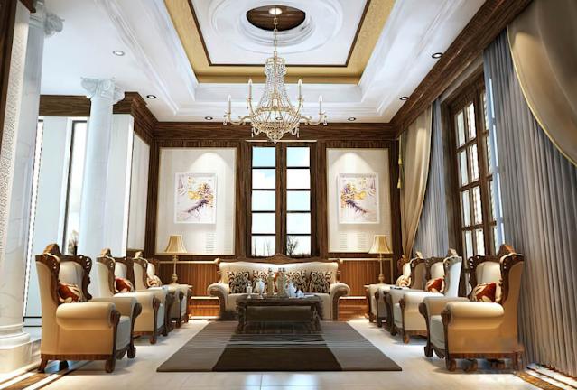 Chiêm ngưỡng thiết kế biệt thự cổ điển kiểu Pháp 3 tầng đẹp mê hồn