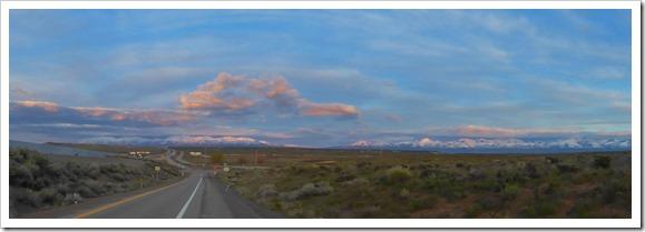 Nevada, I-80, Spring 2016
