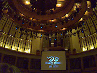 First time in Esplanade concert hall. It has nice decor.