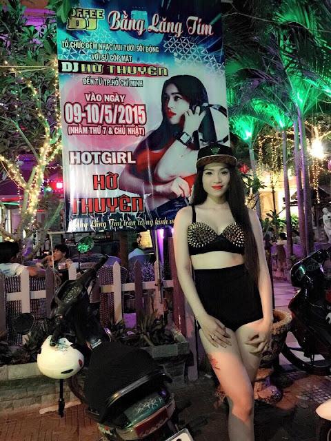 Hot girl DJ Hờ Thuyên