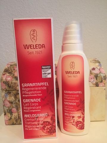 Weleda – Granatapfel regenerierende Lotion