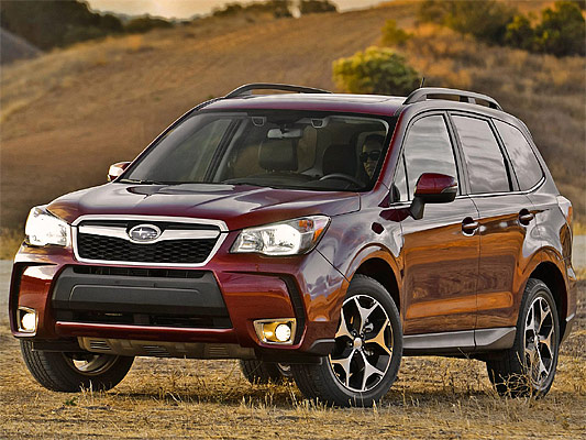 Motor Trend: 2014 Subaru Forester US-Version