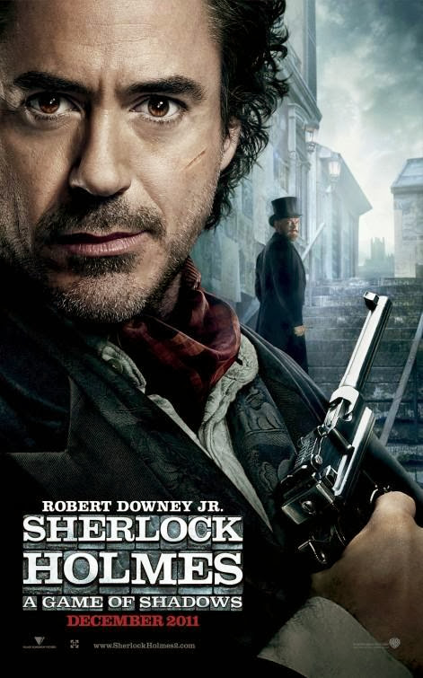 Poster Of Sherlock Holmes A Game of Shadows (2011) Full Movie Hindi Dubbed Free Download Watch Online At Alldownloads4u.Com