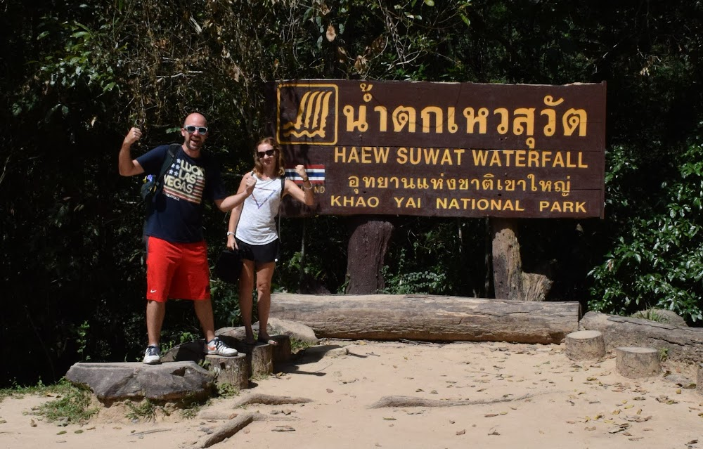 Welcome to Haew Suwat Waterfall, probably the main attraction of the park other than the abundance of wildlife...
