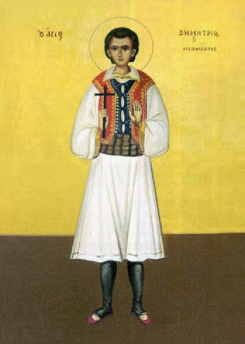 Holy New Martyr Mitros Of Peloponnesos 1794
