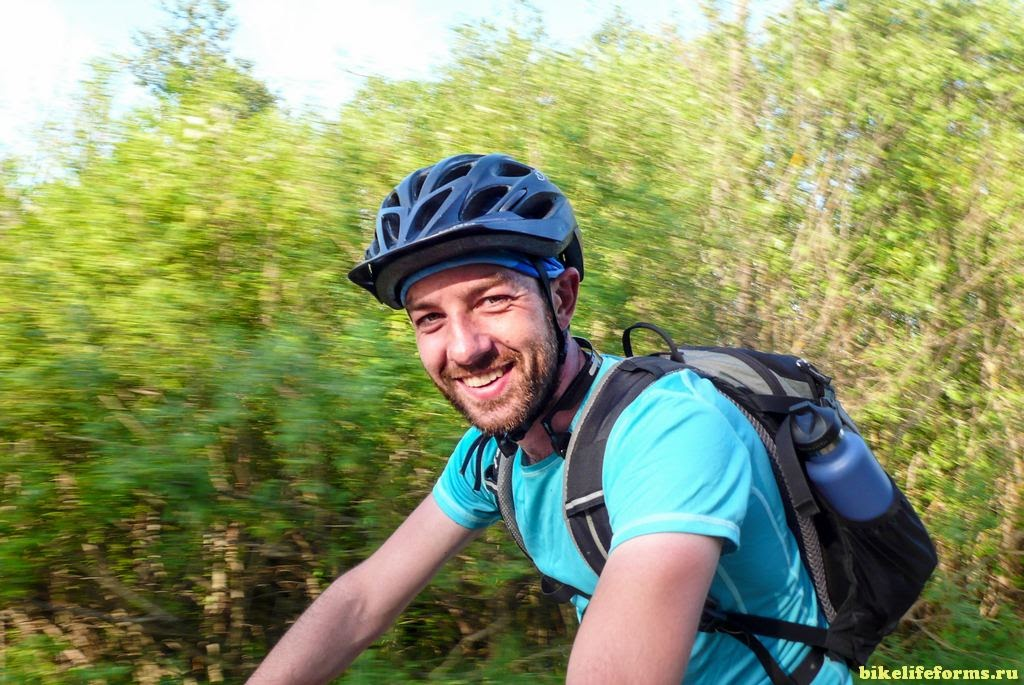 настоящий велотурист