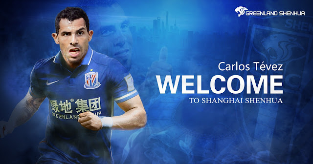 Tévez leaves Boca to join Chinese side Shanghai Shenhua