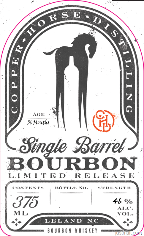 Copper Horse Distilling Single Barrel Bourbon