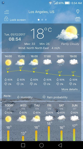 Weather  screenshots 10