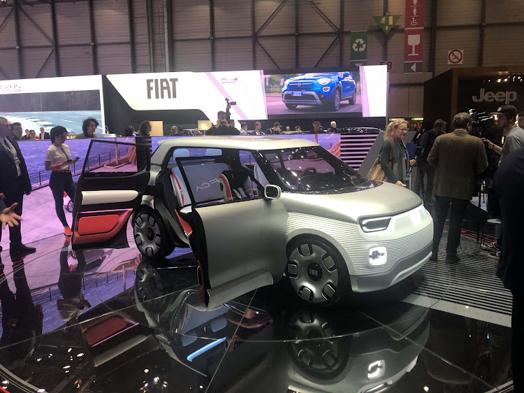 The Fiat Centoventi concept was a big surprise at Geneva and could be a preview of the next-generation Panda.