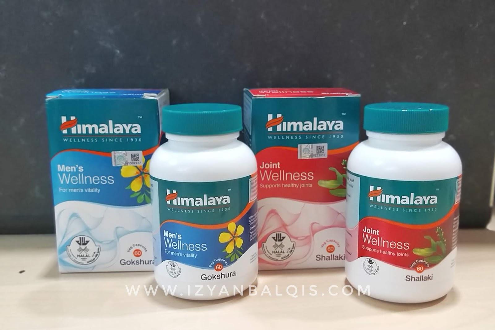 Himalaya Men Wellness dan Joint Wellness Untuk Kesihatan Dalaman