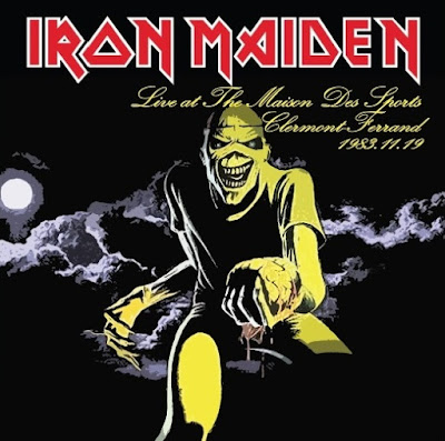 Iron Maiden - Maison Des Sports, Clermont-Ferrand, France, 19 Nov 1983 -Remastered- (CD & Covers) Bootleg