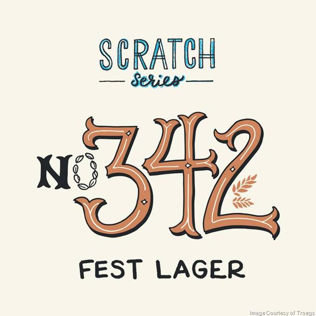 Troegs Releasing Scratch # 342 fest Lager