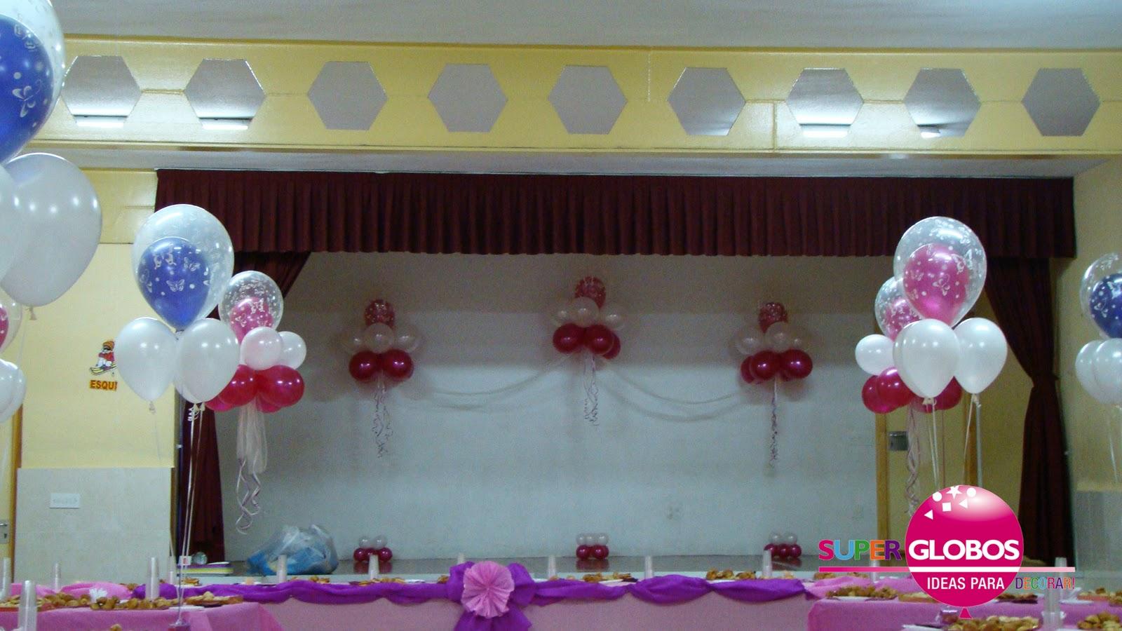Decoraci n pedida hogueras 2011 decoraci n con globos for Decoracion para pared dia de la madre